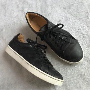 Magnanni Basilio Lo Men's Leather Sneaker Black 11